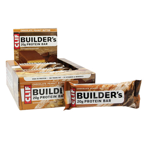 CLIF BUILDER'S PEANUT BUTTER 2.4 OZ BAR