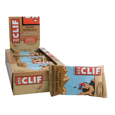 CLIF PEANUT TOFFEE BUZZ 2.4 OZ BAR