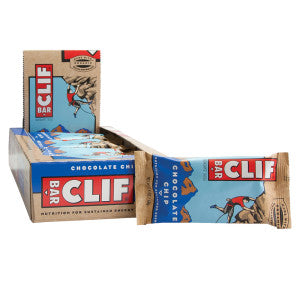 Clif Bar Chocolate Chip 2.4 Oz Bar 12Ct Box