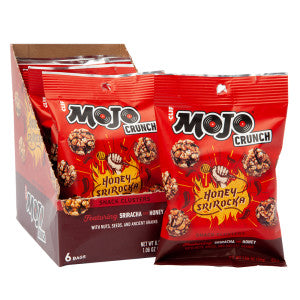 Clif Mojo Honey Srirocka Cluster 1.06 Oz 6Ct Box
