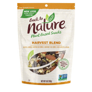 Back To Nature Harvest Blend Trail Mix 10 Oz Pouch 9Ct Case