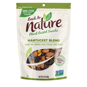 Back To Nature Nantucket Blend Trail Mix 10 Oz Pouch 9Ct Case