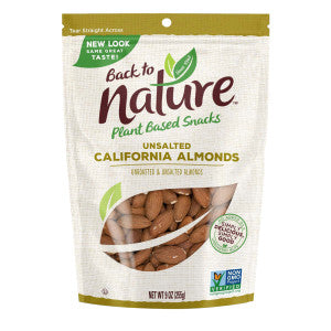 Back To Nature California Almonds 9 Oz Pouch 9Ct Case