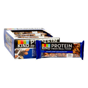 Kind Double Dark Chocolate Nut Protein 1.76 Oz Bar 12Ct Box
