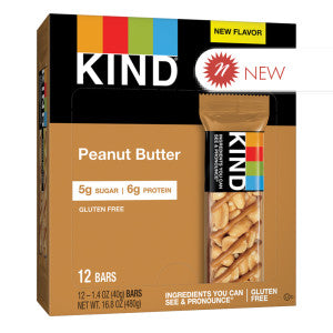 Kind - Bar - Peanut Butter - 1.4Oz 12Ct Box