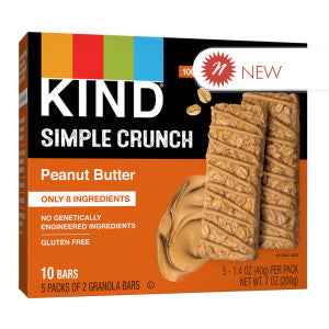 Kind - Simple Crunch - Peanut Butter (5Ct) - 7Oz 8Ct Case
