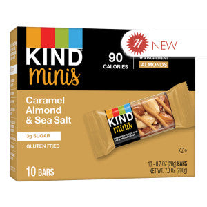 Kind - Miniature - Caramel Almond Seasalt (10Ct) - 7Oz 8Ct Case