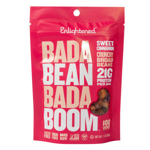 Enlightened Bada Bean Bada Boom Sweet Cinnamon 3 Oz 6Ct Case