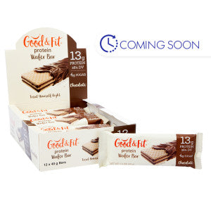 Good & Fit Chocolate Protein Bar 1.4 Oz 12Ct Box
