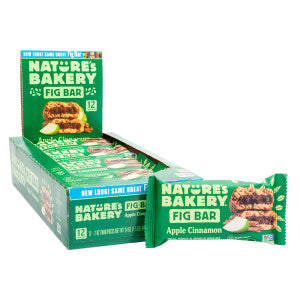 Nature'S Bakery Apple Cinnamon Fig Bar 2 Oz 12Ct Box