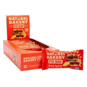 Nature'S Bakery Peach Apricot Fig Bar 2 Oz 12Ct Box