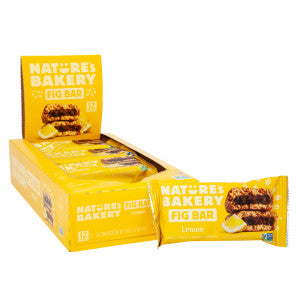 Nature'S Bakery Lemon Fig Bar 2 Oz 12Ct Box