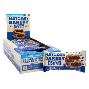 Nature'S Bakery Gluten Free Blueberry Fig Bar 2 Oz 12Ct Box