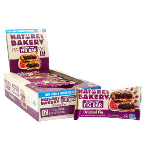 Nature'S Bakery Gluten Free Fig Bar 2 Oz 12Ct Box