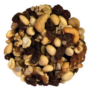 Nassau Candy Raisin Nut Mix 10.00Lb Case