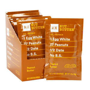 Rx Bar Nut Butter Peanut Butter 1.12 Oz 10Ct Box