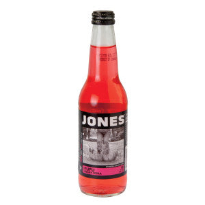 Jones Fufu Berry Soda 12 Oz Bottle 4 Pack 24Ct Case