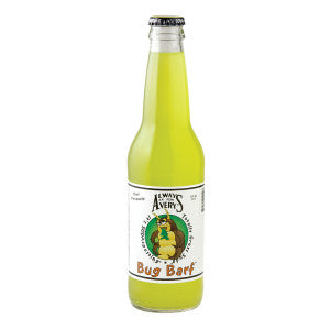 Avery'S Bug Barf Kiwi Pineapple Soda 12 Oz Bottle 24Ct Case