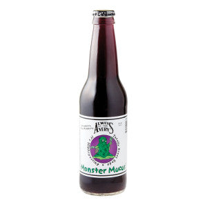 Avery'S Monster Mucus Strawberry Blue Raspberry Soda 12 Oz Bottle 24Ct Case