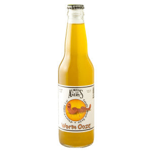 Avery'S Worm Ooze Kiwi Orange Soda 12 Oz Bottle 24Ct Case