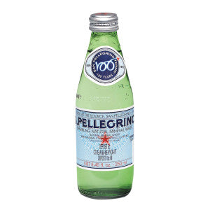 San Pellegrino Sparkling Water 8.45 Oz Bottle 24Ct Case