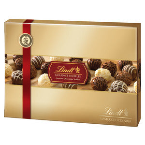 Lindt Gourmet Truffle 7.3 Oz Gift Box 7Ct Case