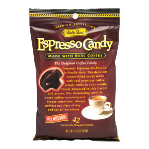 Bali'S Best Espresso Candy 5.3 Oz Peg Bag 12Ct Case