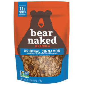 Bear Naked Original Cinnamon Granola 11.2 Oz Pouch 6Ct Case