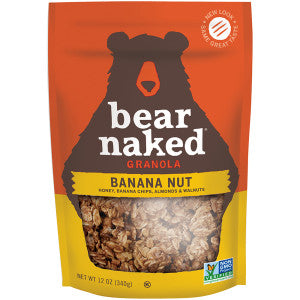 Bear Naked Go Bananas Go Nuts Granola 12 Oz Pouch 6Ct Case