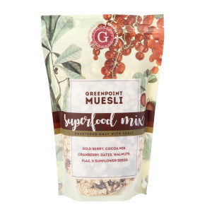 Greenpoint Muesli Superfood Muesli 12 Oz Bag 6Ct Case