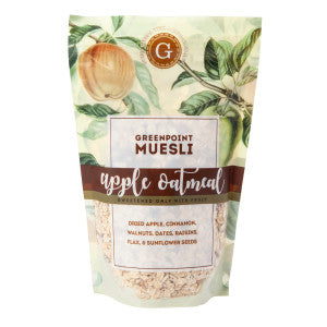 Greenpoint Muesli Apple Oatmeal Muesli 12 Oz Bag 6Ct Case