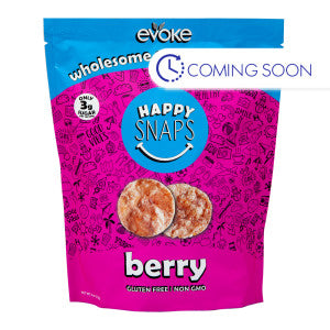 Evoke Happy Snaps Berry Granola Crisps 4 Oz Pouch 6Ct Case