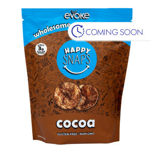 Evoke Happy Snaps Cocoa Granola Crisps 4 Oz Pouch 6Ct Case
