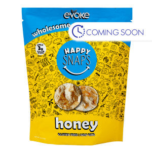 Evoke Happy Snaps Honey Granola Crisps 4 Oz Pouch 6Ct Case