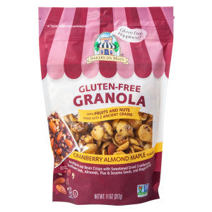 Bakery On Main Gluten Free Granola Cranberry Almond Maple 11 Oz Pouch 6Ct Case