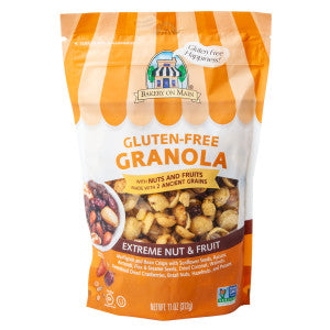 Bakery On Main Gluten Free Granola Extreme Nut & Fruit 11 Oz Pouch 6Ct Case