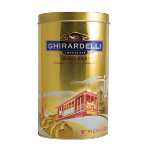 Ghirardelli Heritage Gift Collection 8.74 Oz Tin 6Ct Case