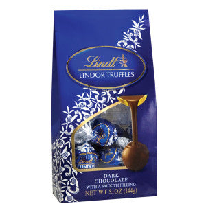 Lindt Lindor Dark Chocolate Truffles 5.1 Oz Bag 6Ct Case