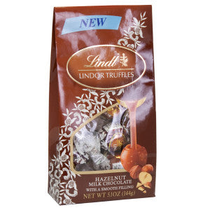 Lindt Lindor Hazelnut Truffles 5.1 Oz Bag 6Ct Case