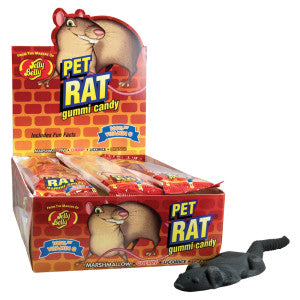 Jelly Belly Gummi Pet Rat 12Ct Box