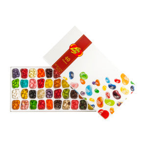 Jelly Belly 40 Flavor Jelly Bean 17 Oz Gift Box 5Ct Case