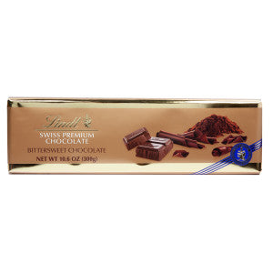 Lindt Surfin Bittersweet Chocolate 10.5 Oz Bar 10Ct Box