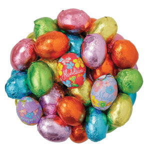 Madelaine Milk Chocolate Foiled Easter Eggs 10.00Lb Case