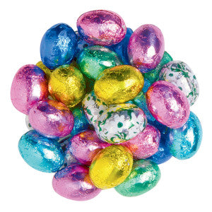 Madelaine Snowcap Foiled Easter Eggs 10.00Lb Case