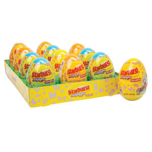 Starburst Jelly Beans 1.6 Oz Plastic Egg 12Ct Box