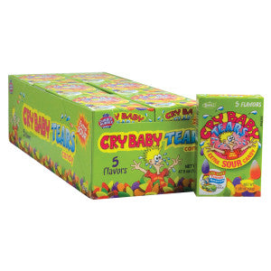 Cry Baby Tears Extra Sour Candy 24Ct Box