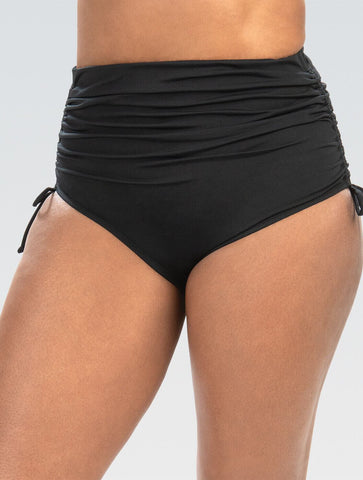 Women's Adjustable High Waisted Moderate Briefs