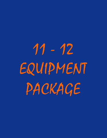 Delaware YMCA 11-12 Equipment Package