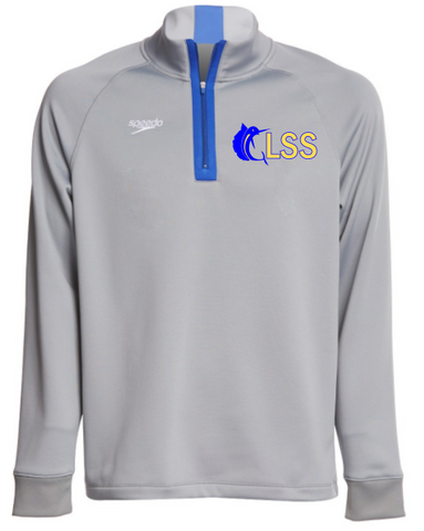 GLSS Speedo Qtr Zip Pullover w/ Embroidered Logo