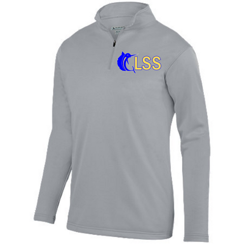 GLSS Youth Qtr Zip Pullover w/ Embroidered Logo